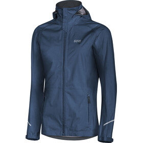 GORE WEAR R3 Gore-Tex Active Kapuzenjacke Damen deep water blue